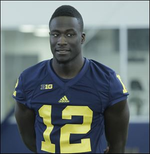 Backup quarterback Devin Gardner could take snaps at wide receiver this season for Michigan.