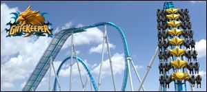 Cedar Point's new ride, GateKeeper.