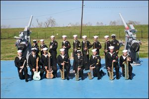 Musicians from the Navy Band will play in various configurations during Navy Week.