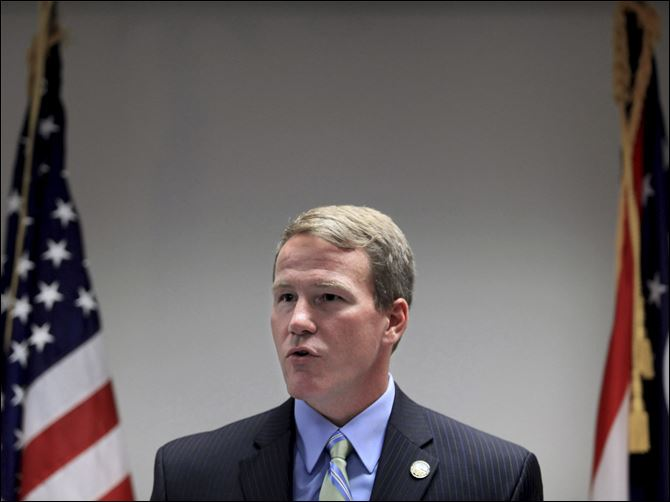 HUSTED_VOTING_FS Secretary of State Jon Husted's decision was immediately greeted with praise and scorn.