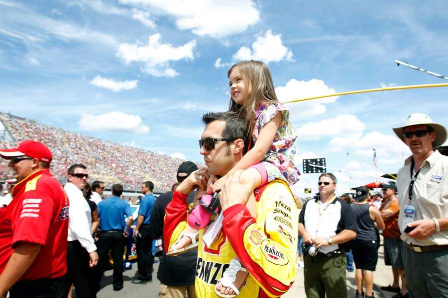 nascar-hornish-daughter