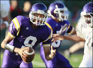 Waite senior quarterback Johnny Douanglee topped the City League last season with 1,270 yards passing.