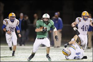 Running back Will Longthorne had 1,103 rushing yards and 21 touchdowns last year for Ottawa Hills.