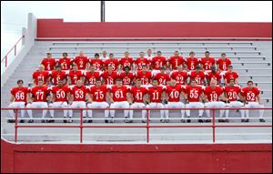 FROM LEFT: Row 1: Robert Beck, Michael Kirkpatrick, Zach Wheeler, Chris Overfield, Nick Leone, Ben Petersen, Collin Yurista, Addison Rospert, Cody Smith, Cory Colston, Trey Gluth, Chris Stokes, Drew Blackburn Row 2: Collin Salyers, Jessee Escobedo, Justin Holmes, Keegan Lowe, Chris Weaver, Cal Laurel, Andrew Cline, Jay Greider, Shane York, Zac Smith, Corey Beal, Dylan Stacy Row 3: John Morton, Stephan Daniels, Jordan Kleinhans, Cole Araguz, Zach Kokinda, David Saunders, Kalob Wylie, Tristen Mallory, Alex Bastian, Brock Moore, Jacob Reed, Noah Cros