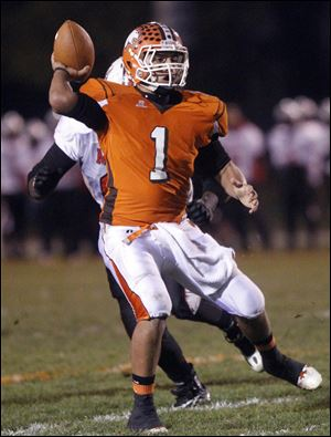 Southview quarterback Austin Valdez , who has committed to play at Bowling Green State University, threw for 1,820 yards and 13 TDs.