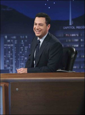 Jimmy Kimmel's talk show will shift in January from its 12:05 a.m. time slot to the 11:35 p.m. slot held by late-night newscast 'Nightline.'