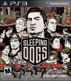 Sleeping Dogs; Grade: * * * *; System: Xbox 360, PS3, PC; Published by: Square Enix; Genre: Action; ESRB Rating: Mature.