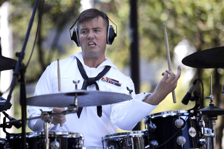 navy-Bruce-Fisher-plays-the-drums