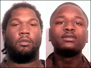 Jan Brooks, 22, of 3921 Bowman St. and Tevin Redd, 20, of 1023 Norwood Ave. — were arraigned Friday in Toledo Municipal Court.
