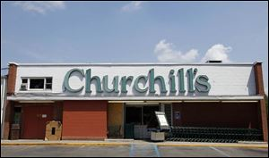 Churchill's grocery store building on Central Avenue.