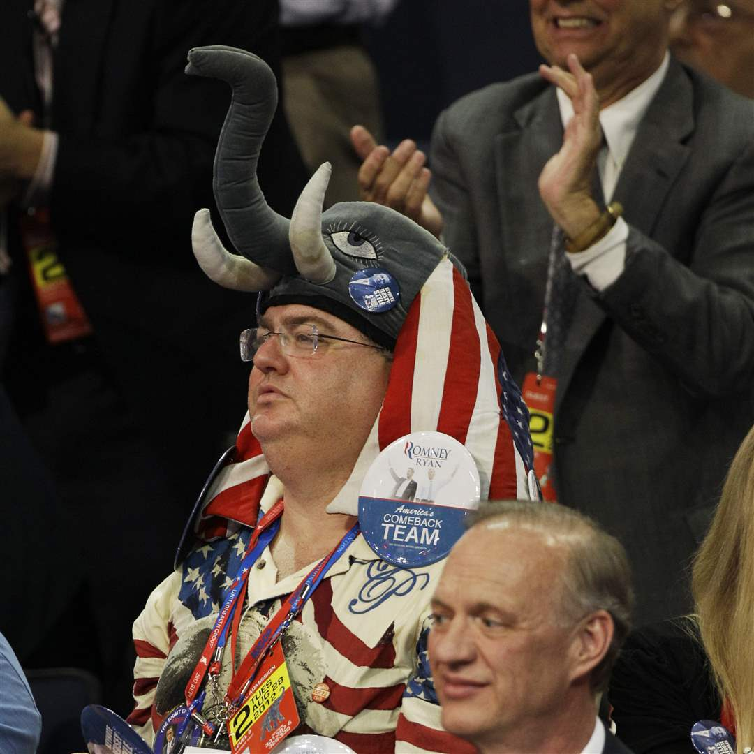 Republican-Covention-elephant-hat