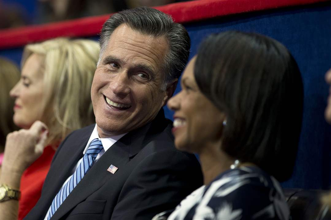 Republican-Convention-Mitt-Romney-Condoleezza-Rice