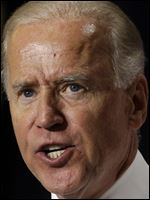 Vice President Joe Biden is to visit Ohio before his boss stops in Toledo and Cleveland.