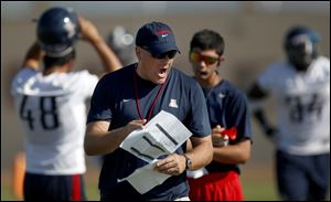 Rich Rodriguez ran through two ineffective defensive coordinators in his three seasons at Michigan. So in his first season at Arizona, Rodriguez hired Jeff Casteel, whose 3-3-5 defenses worked wonders at West Virginia.