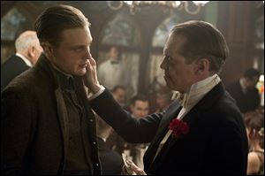 Michael Pitt, left, and Steve Buscemi are shown in a scene from the HBO original series 'Boardwalk Empire.'