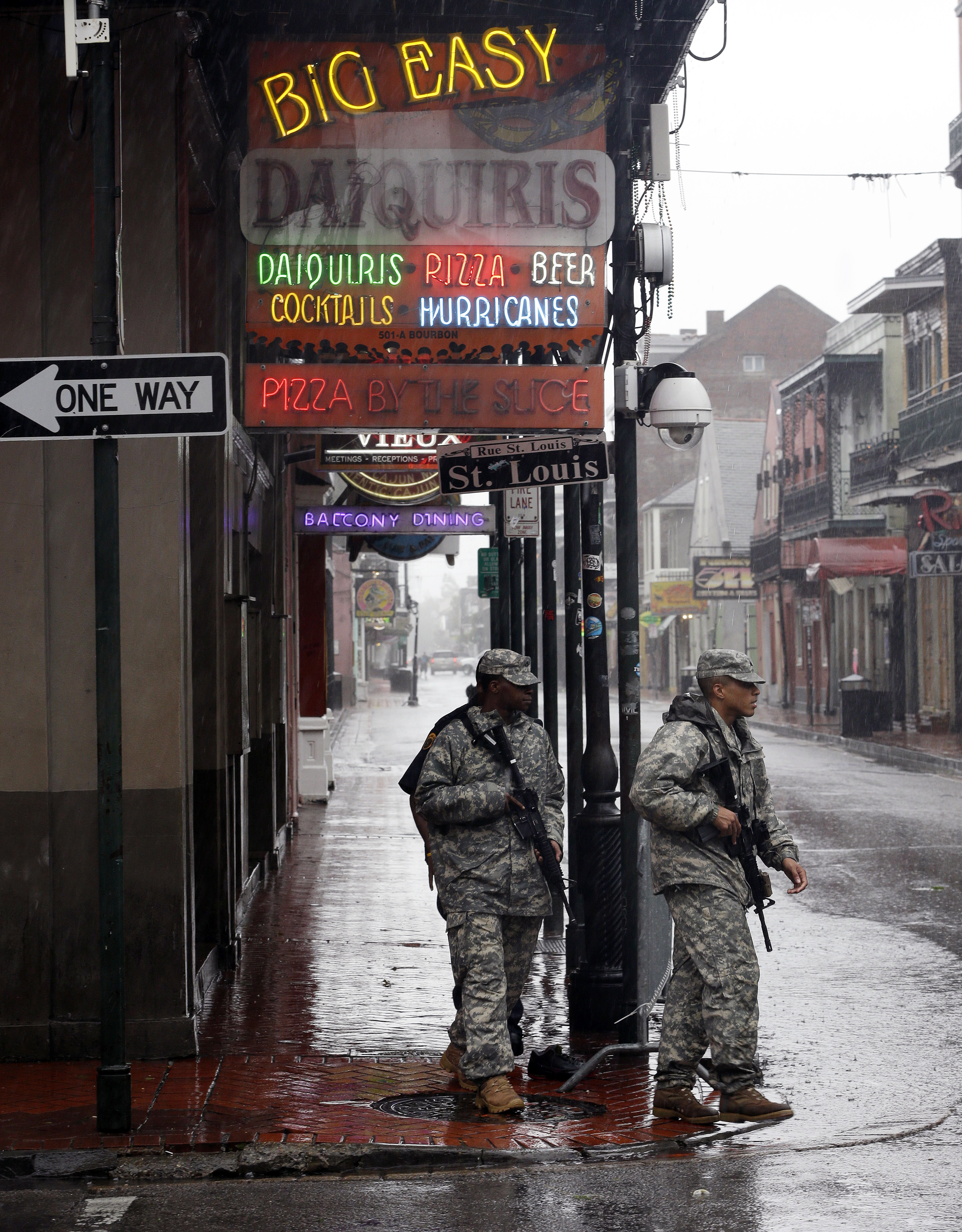 New Orleans Officials Imposes Dusk To Dawn Curfew As Isaac