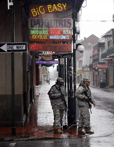 Isaac-Louisiana-Army-National-Guard-Bourbon-Street