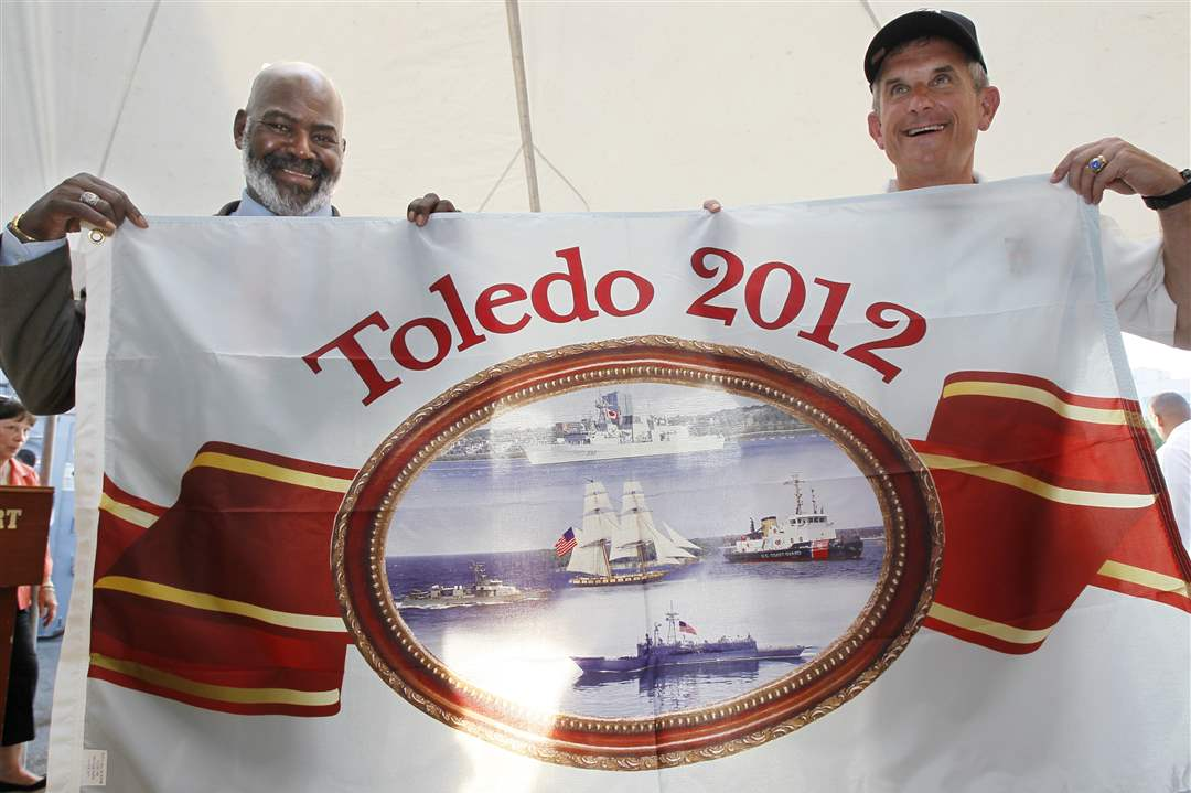 Navy-Week-De-Wert-Mike-Bell-Greg-Nosal-flag