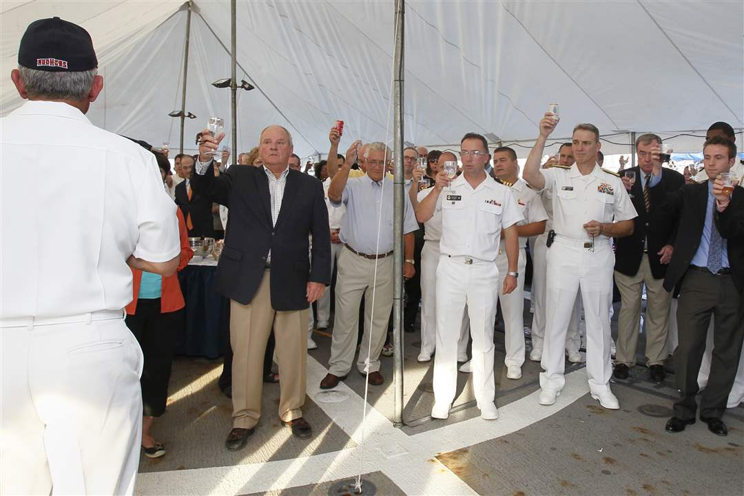 Navy-Week-De-Wert-Nosal-toast
