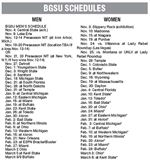 BGSU-basktball-schedules