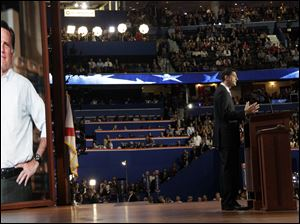 Rep. Paul Ryan, R-Wis., accepts the nomination as Mitt Romney's vice presidential running mate.