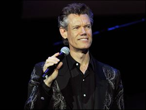 Musician Randy Travis performs during the 4th Annual ACM Honors at the Ryman Auditorium in Nashville, Tenn., Sept., 2010.