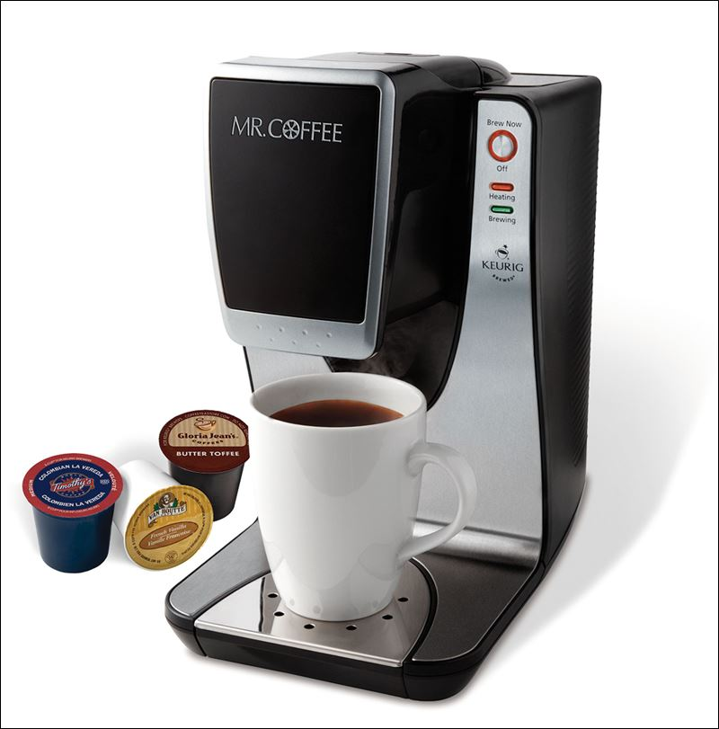 More than 600,000 Mr. Coffee single-cup brewers being recalled due to potential burn hazard ...