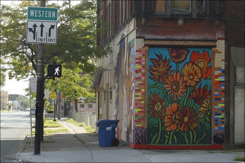 Toledo blade for 9 11 mural van