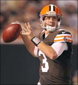 Rookie quarterback Brandon Weeden is getting the call this season to lead the Browns to a respectable won-loss record after experiencing 13 years of rebuilding since their 1999 reincarnation.