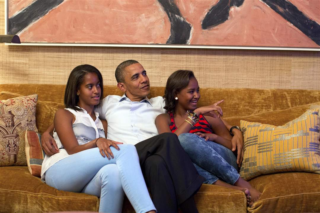 Democratic-Convention-President-Obama-Malia-Sasha
