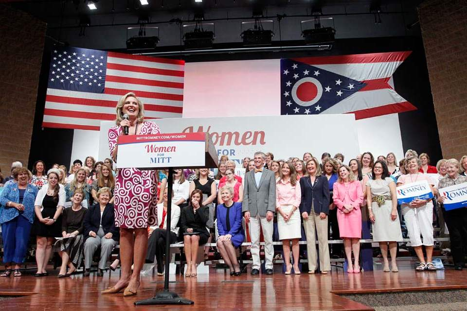 Ann-Romney-speaks-during-a-Women-for-Mitt-rally-at-the-Winebrenner-Auditorium-at-the-University-of-Findlay