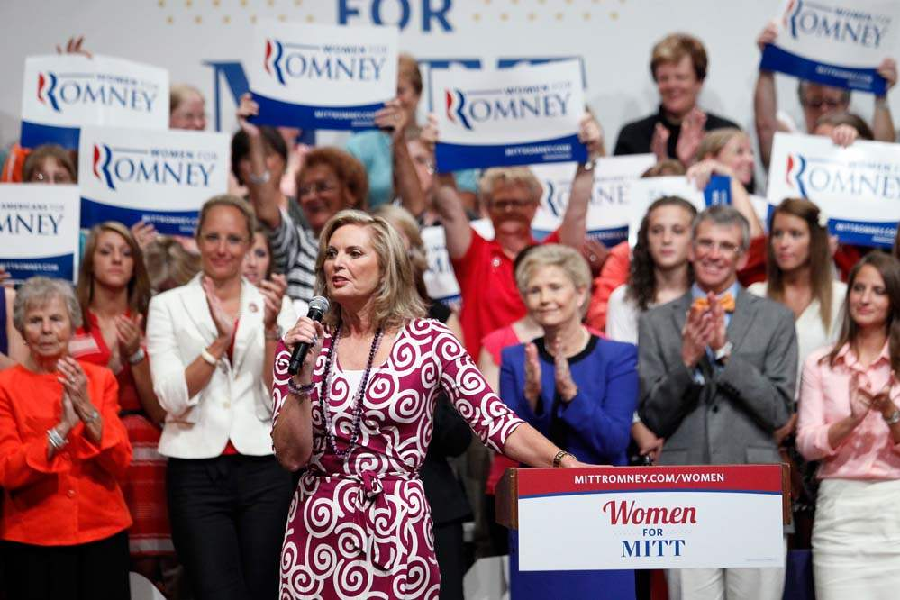 Ann-Romney-speaks-during-a-Women-for-Mitt-rally-at-the-Winebrenner-Auditorium-at