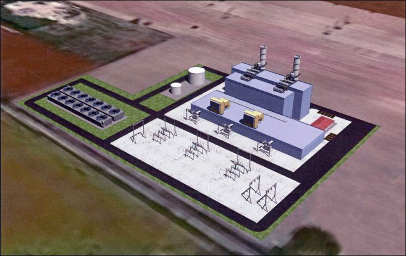 Natural Gas Fired Power Plant Planned On 30 Acres In