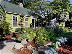 The beautiful cottage home of Janice Trudeau has become a garden getaway for its owner.