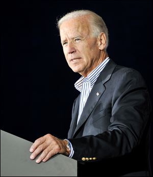 Vice President Joe Biden is set to make stops in Athens County and the Cincinnati area.