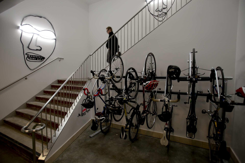 Image result for Bike repair shop at facebook menlo park