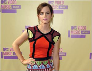 Emma Watson at the MTV Video Music Awards in Los Angeles.