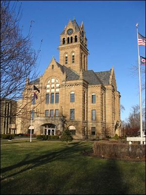 The 1901 Ottawa County Courthouse in Port Clinton underwent a restoration costing close to $7 million, starting in 1997 and ending in 2005. County Commissioner Steve Arndt said the project was paid for as it went along, 'similar to what you do at home.'