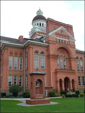 The Paulding County Courthouse, in Paulding, is the beneficiary of a heritage fund established in 2009. The fund accepts donations and conducts fund-raisers to build up cash to earn interest income to aid with courthouse maintenance.