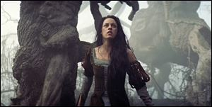 Kristen Stewart is Snow White in 'Snow White and the Huntsman.'