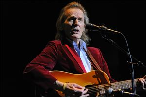 Gordon Lightfoot and his band will be performing Tuesday night at the Stranahan Theater.