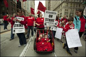 The 5-day strike of teachers in Chicago appears to be nearing an end, with a