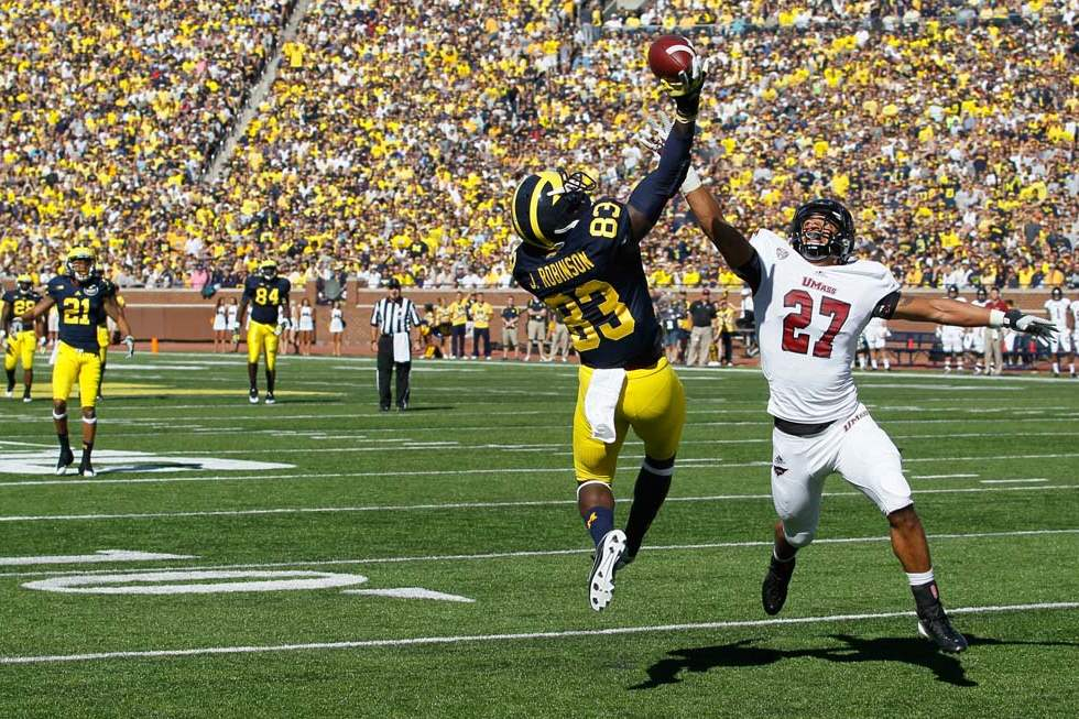 University-of-Michigan-player-Jerald-Robinson-83