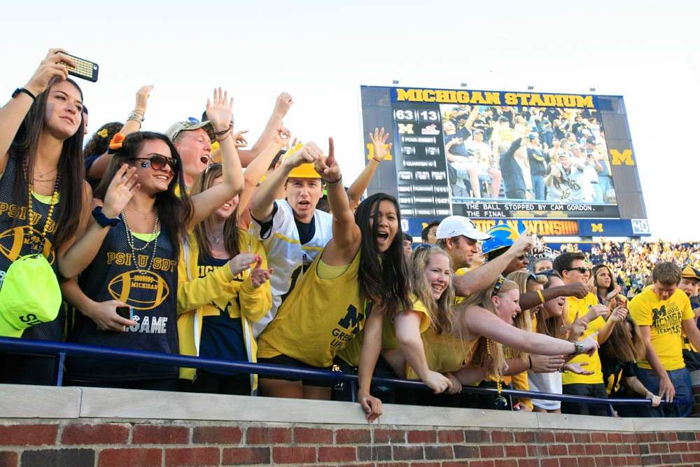 University-of-Michigan-students-celebrate-the-Wolverine-s