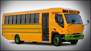 School officials from Hancock County and the surrounding area are taking a look at adding buses to their fleets that will require a plug-in rather than a fill-up. A fully electric school bus will be at the Hancock County Educational Service Center in Findlay on Friday morning for school transportation officials to see.