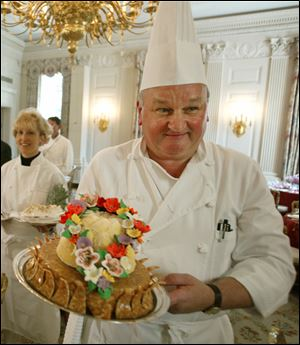 White House Pastry Chef Roland Mesnier