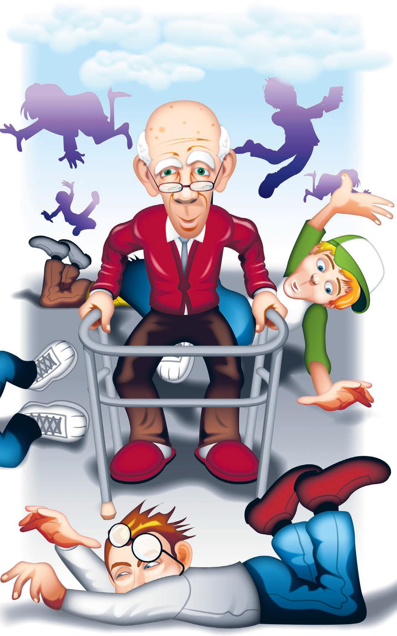fall prevention in older adults Who benefits from balance matters® and step & connect services older adults who would like to prevent falls.
