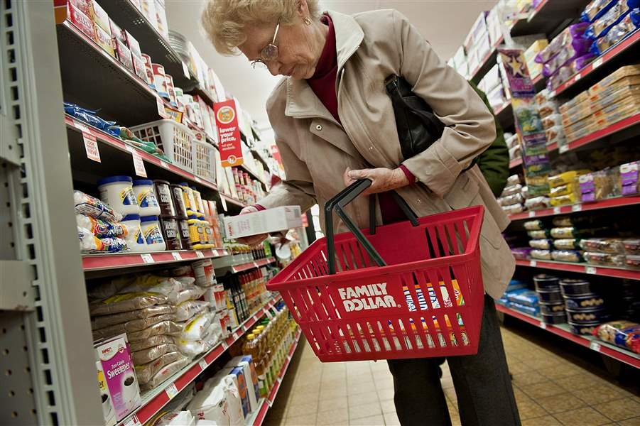Customer-Helen-Buckley-shops-at-a-Family-Dollar-Store