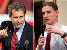 Senator-Sherrod-Brown-and-treasuer-Josh-Mandel