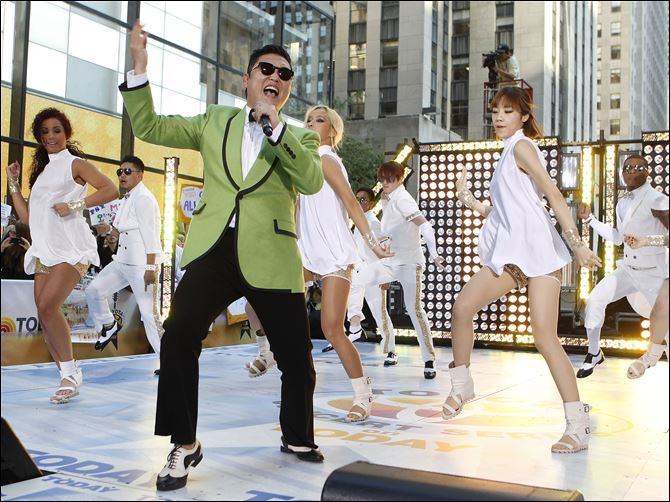 Psy performs on TODAY South Korean rapper Psy performs his massive pop hit 'Gangnam Style' live on NBC's